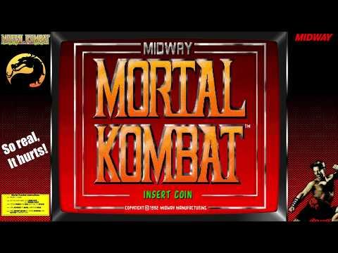 Mortal Kombat Arcade Gameplay One Credit All Very Hard