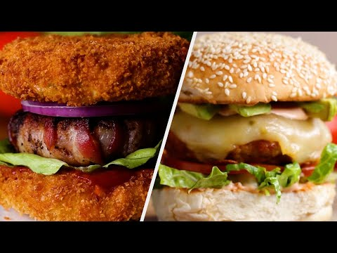 6 Versatile Burger Recipes Fit For Every Type of Eater ?Tasty Recipes