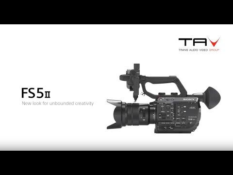 Il nuovo Sony FS5 II è arrivato