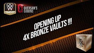 Opening Up 4x Bronze Vaults / WWE Champions 🍀