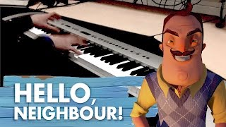 "Hello Neighbor - ""Basement (Alpha 2)"" [Piano Cover] 