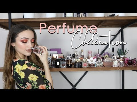 MY ENTIRE PERFUME COLLECTION!! omg... ITS A LOT