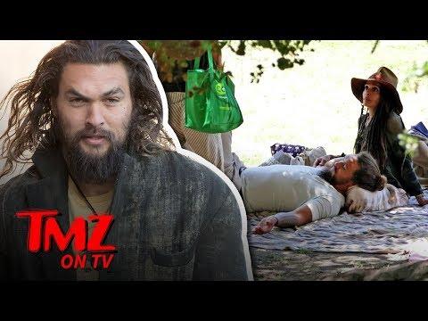 Mamoa Dines Al Fresco With Lisa Bonet | TMZ TV
