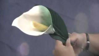 Como hacer la Cala en goma eva, una flor bella para el alma