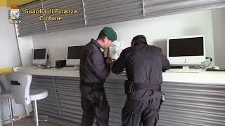 CROTONE, GDF: OLTRE 22 MLN DI EURO SOTTRATTI AL FISCO DA AZIENDA DEL SETTORE GAMING