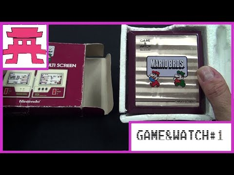 Game & Watch #1: Introducción + Unboxing de Mario Bros.