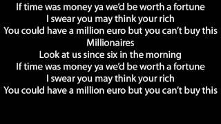 The Script Millionaires lyrics   YouTube