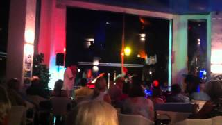 Istanbul Blues cover in Jam Session with THE BRINK at Cafe Del Mar