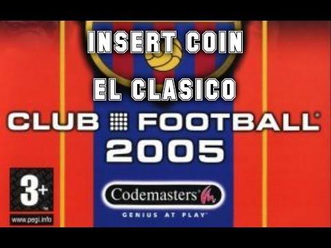 Club Football 2005 FC Barcelona (2004) - PlayStation 2 - El Clásico
