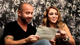 Miley  Cyrus Trying To Talk In Brazilian  Portuguese