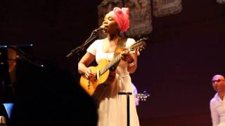 "India Arie Performing ""6th Avenue"" Live at Her Album Release Party in NYC 6/24/13"