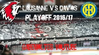 Lausanne HC vs HC Davos Playoff 2016/17 (No Shall Live)