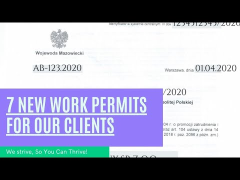 7 New Work Permits For Our Dearest Clients photo