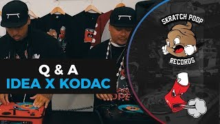 "Dj Idea and Kodac Visualz Scratch Session - Unheard Dope 7"" - Portable Turntable Numark PT01 Scratch"