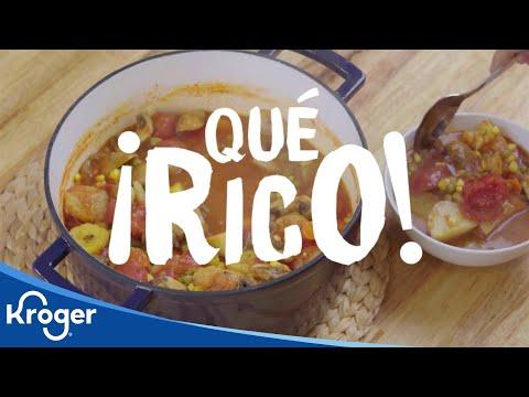 ¡Qué Rico! Vegetarian Sancocho