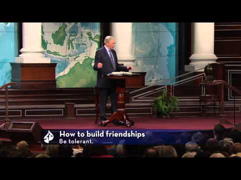 Thinking Through Your Friendships– Dr. Charles Stanley