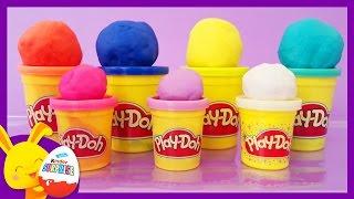 Couleur - Pâte à modeler Play-doh pour les enfants - Touni Toys - Titounis