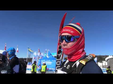Birken skifestival 2018: Birkebeinerne strømmer i mål på Lillehammer