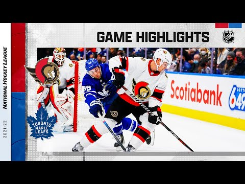 Senators @ Maple Leafs 10/16/21 | NHL Highlights