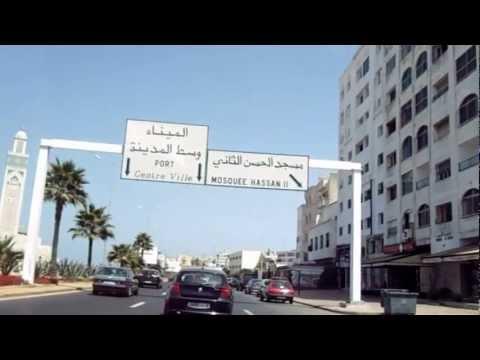 Casablanca, Morocco / Maroc – Casablanca Drive by the Coast
