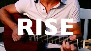 (Jonas Blue ft. Jack & Jack) Rise - Fingerstyle Guitar Cover