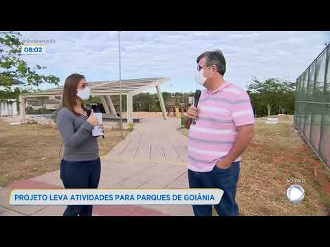 PROJETO LEVA ATIVIDADES PARA PARQUES DE GOIÂNIA.