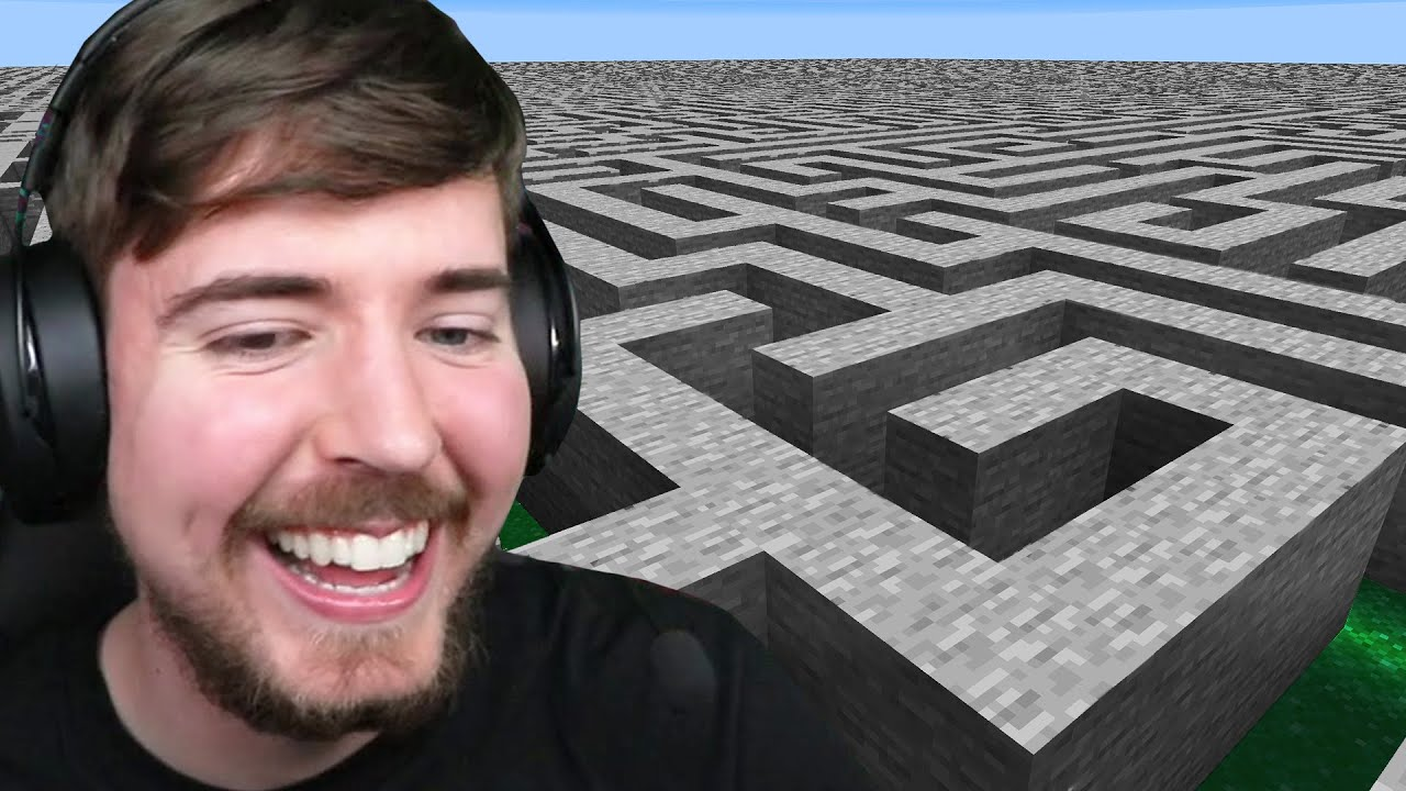 MrBeast - I Made 100 Players Escape An Impossible Maze!