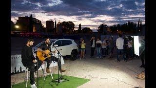 Acústico de 'Imperdible' entre Rayden y Juancho, de Sidecars en Alcalá de Henares