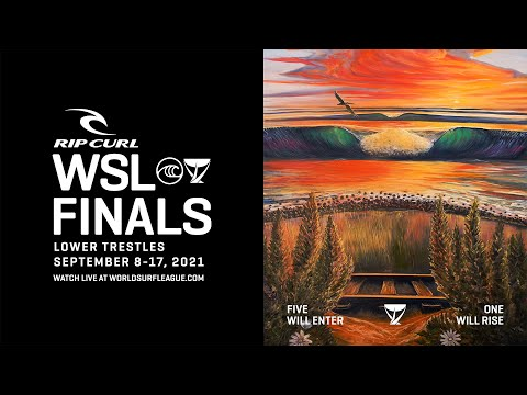 Highlights From The First-Ever Rip Curl WSL Finals   Held At Lower Trestles   September 14, 2021