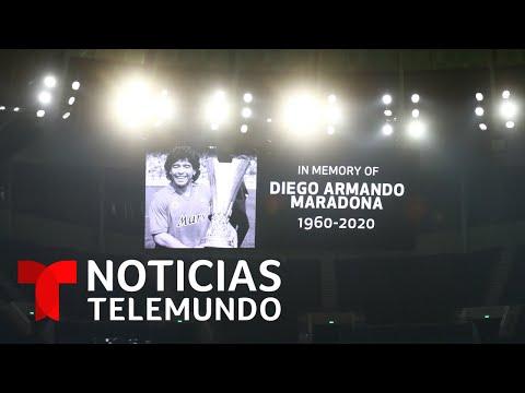 Señalan al médico de Diego Armando Maradona | Noticias Telemundo