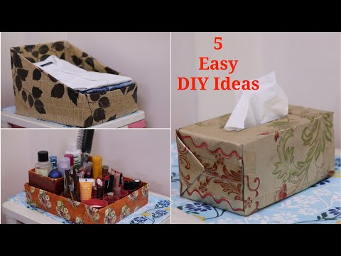 5 No cost DIY to Organize your home Wardrobe Drawer - Home Organization Ideas
