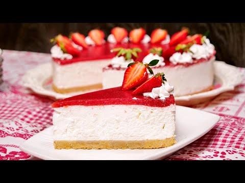 Cheesecake sa jagodama / Strawberry cheesecake (ENG SUB)