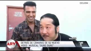 """Detras de camaras de nuevo video de Jencarlos Canela """"Dure Dure"""""""
