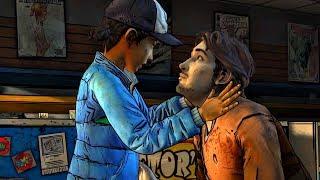 Clementine and Luke Seclude in Comic Shop (Walking Dead | Telltale Games)