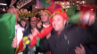 Sepp Blatter vai pro caralho! Canta torcida portuguesa.