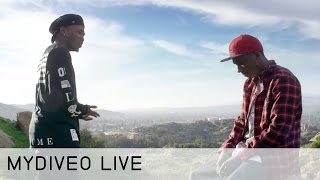Dizzy Wright Working to Make Things Right - mydiveo Live! on Myx TV