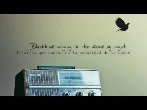 Blackbird En Espanol de The Beatles Letra y Video