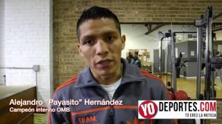 Alejandro  Payasito  Hernandez siente que puede noquear a Tomoki Kameda