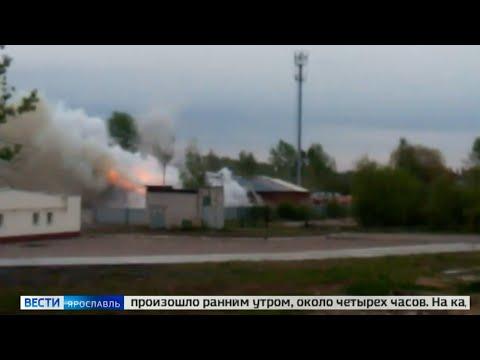 Пожар в складских помещениях во Фрунзенском районе тушили 5 часов