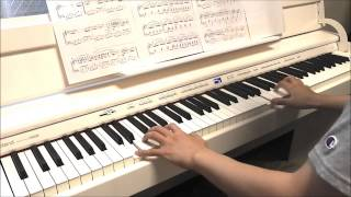Summer (Joe Hisaishi) on Piano