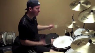 David Bowie - The Next Day (live drum cover) Kyle Davis PianoManKD 2013