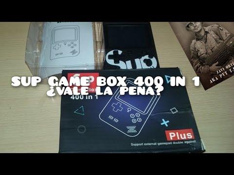 Reseña Sup Game Box 400 in 1 (Clónica Famicon/NES portátil)