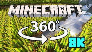 Minecraft [VR] 360° 8K 60 Fps - บ้านผู้เล่น Smilekrub #2