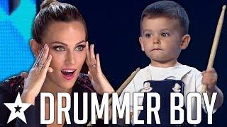 Brilliant BABY Drummer SHOCKS Everyone On Spain's Got Talent 2019! | Got Talent Global