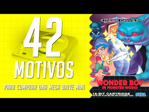 Wonder Boy in Monster World. 42 motivos para comprar una Mega Drive Mini. (30/42)