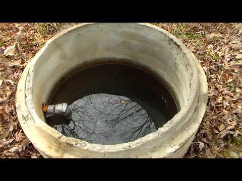 Getting water from the earth for home or emergency backup.