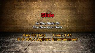 Goo Goo Dolls - Slide (Backing Track)
