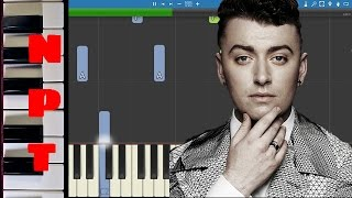 Sam Smith - Stay With Me PIANO PARTS ONLY - Piano Tutorial