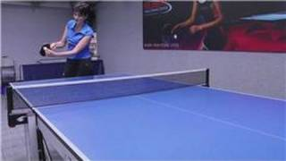 Table Tennis : Top Spin Forehand in Ping Pong
