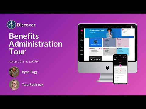 Benefits Administration Tour